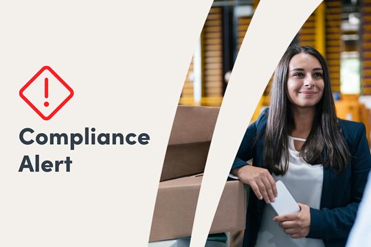 Generic compliance alert image